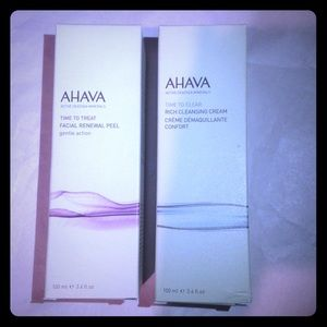 Ahava time to treat facial renewal peel  cleansing